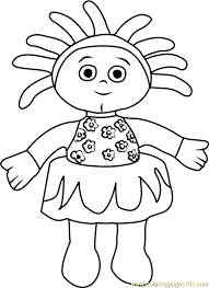 upsy daisy coloring free night garden coloring pages