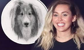 miley cyrus immortalizes pup emu with yet another tattoo wstale com
