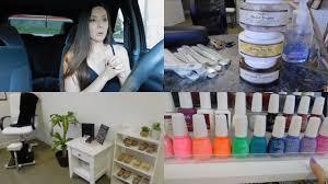 favorite nail supplies organizing my salon vlog youtube