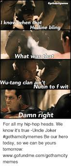 Wu Tang Clan Meme - 25 best memes about wu tang clan aint nuthing wu tang clan