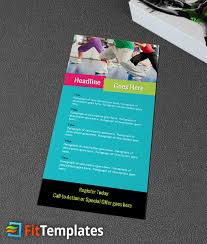 dance fitness rack card template 1 2 fitness rack card ideas