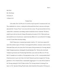 an essay on vietnam viet cong vietnam war