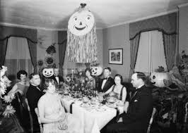 black and white vintage halloween images cat party vintage halloween cats los angeles history 1920s