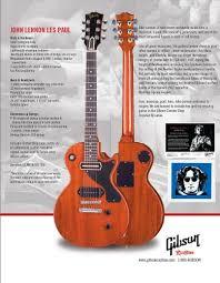 the unique guitar blog john lennon u0027s les paul junior modified guitar