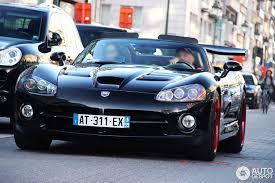 black dodge viper car spots worldwide hourly updated autogespot