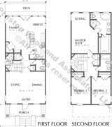 narrow lot 2 story house plans 2 storey house plans narrow lots home zone