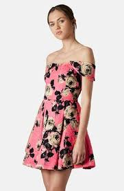 bethany mota pink floral dress on the hunt