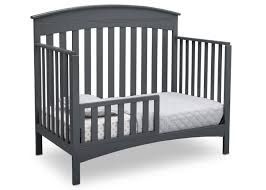 Convertible Crib Toddler Bed Bennington Elite Arched 4 In 1 Convertible Crib Delta Children