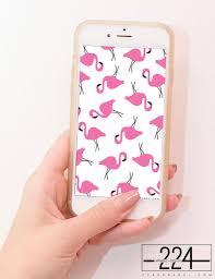 wallpaper with pink flamingos pink flamingos pattern iphone wallpaper free instant download the