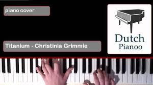 Titanium Piano Cover Sheet Music by Titanium Christina Grimmie Version Piano Cover Youtube