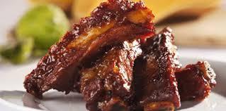 cuisiner travers de porc travers de porc à l américaine facile recette sur cuisine actuelle