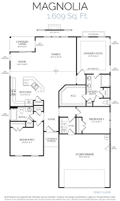 Elevation Floor Plan Magnolia U2013 Elevation E U2013 Welcome To Realstar Homes