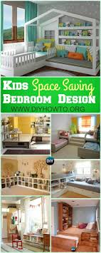 Best  Space Saving Bedroom Ideas On Pinterest Space Saving - Bedroom design kids