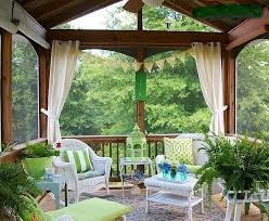 Small Screened Patio Ideas Need Pictures Of Your Decorated Screened Porch Lanai Small
