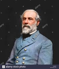 Confederate Flag Bow Tie Vintage Portrait Of Confederate Civil War General Robert E Lee