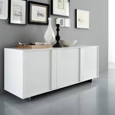 sideboards interesting modern white buffet modern white buffet