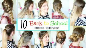 hair styles for back of 10 back to school hairstyles 2017 braidsandstyles12 youtube