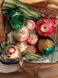 vintage mercury glass christmas ornaments antique xmas