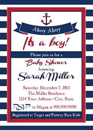 nautical baby shower invitations nautical baby shower invitations templates isura ink