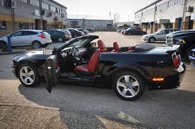 2006 Mustang Gt Black 2006 55 Ford Mustang Gt 4 6 Litre V8 Convertible Premium