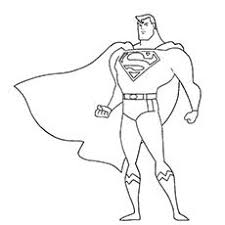 super hero coloring page funycoloring