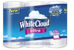 White Cloud Bathroom Tissue - white cloud redefines the meaning of absorbency and value