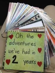 one year anniversary gift ideas for six month anniversary gift a remember when jar with 26 notes