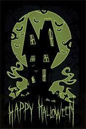 glow in the dark poster happy halloween glow in the dark poster buy online