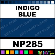 indigo blue nupastel 60 set pastel paints np285 indigo blue