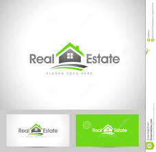 real estate logo stock vector image 53386030