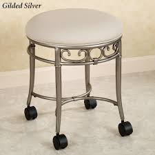 ideas find adjustable vanity stool with wheels for your home