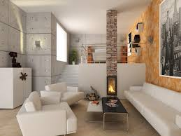 interior design small modern contemporary stylish living room with