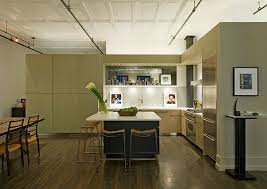 Neutral Color Kitchen - loft decorating ideas five things to consider