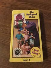 The Backyard Show Book Barney by Barney Backyard Ebay