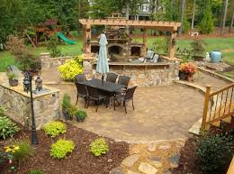 outdoor living pictures outdoor living stone patios photo gallery canyon stone