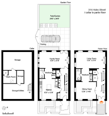 brownstone floor plans traditional brownstone in brooklyn heights with contemporary