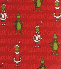 craftdrawer crafts merry grinch christmas quilt kit