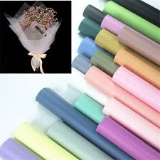 waterproof wrapping paper modern stylish waterproof paper gift flower wrapping paper 10pcs
