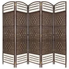 privacy screen room divider hand made wicker room divider separator privacy screen choice of