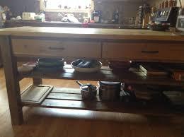 ana white rustic cedar kitchen island diy projects