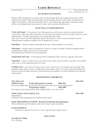 resume examples for medical office resume for study