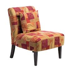 Geometric Accent Chair Accent Chair Geometric Red Free Shipping Today Overstock Com