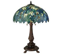 hsn tiffany style lighting tiffany style ls indoor lighting for the home qvc com