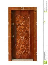 wood door stock image image 17647711