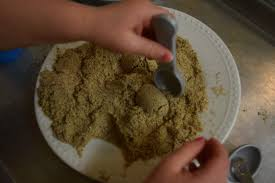 edible sand how to make realistic 5 minute edible sandcastle sand