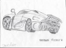 koenigsegg car drawing koenigsegg regera sketch by ajbdoesart on deviantart