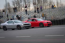 dodge charger vs challenger hellcat vs hellcat tires shredded faces melted broken
