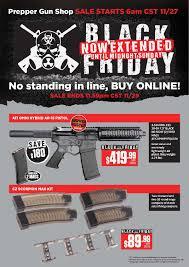 gun black friday deals prepper gun shop black friday 2015 sale extended until midnight