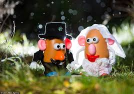 wedding photographer chris thornton captures mr and mrs potato