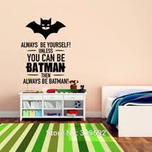Batman Boys Bedroom Popular Batman Wallpaper For Boys Buy Cheap Batman Wallpaper For